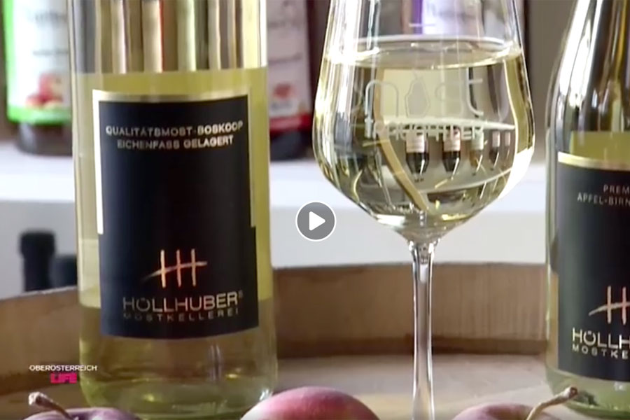 Höllhuber's Cider im LT1 OÖ